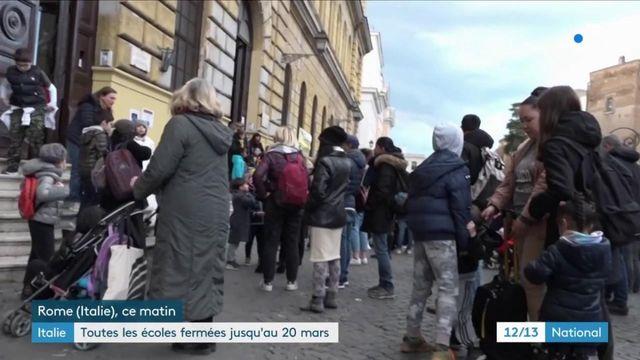 Italie : toutes les écoles et facultés fermées pour limiter la propagation du Covid-19