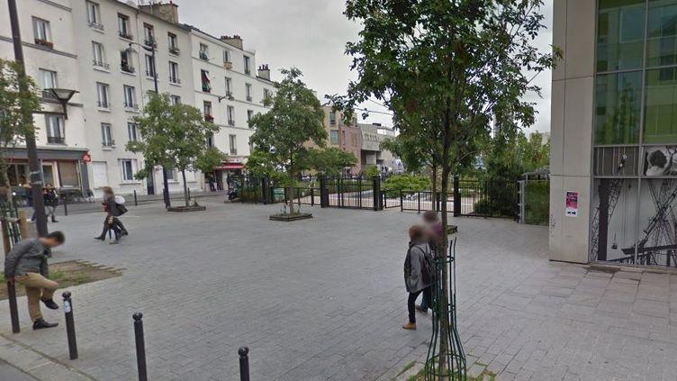 La rue pajol, dans le 18e arrondissement de Paris, en mai 2016. (GOOGLE STREET VIEW)
