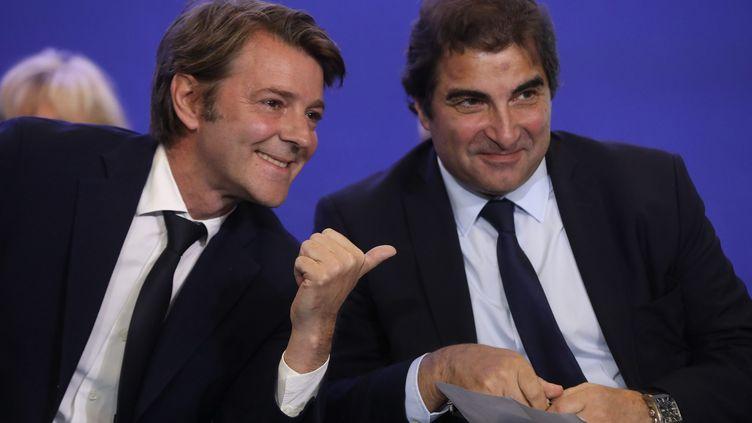 François Baroin, chef de filede la droite, mènera la bataille de son camp pour les législatives. (MaxPPP)