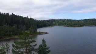 Le lac Ladoga, repère des phoques en danger. (FRANCE 2)
