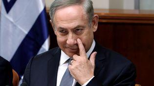Le Premier ministre israélien Benyamin Nétanyahou à Jérusalem, le 12 février 2017. (REUTERS)