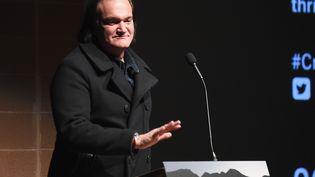 Le réalisateur Quentin Tarantino au Festival de film Sundance à Park City, aux Etats-Unis, le 27 janvier 2017. (NICHOLAS HUNT / GETTY IMAGES NORTH AMERICA)