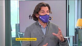 François Chopard, fondateur de Starburst (4 mai 2021). (FRANCE INFO/ RADIO FRANCE)