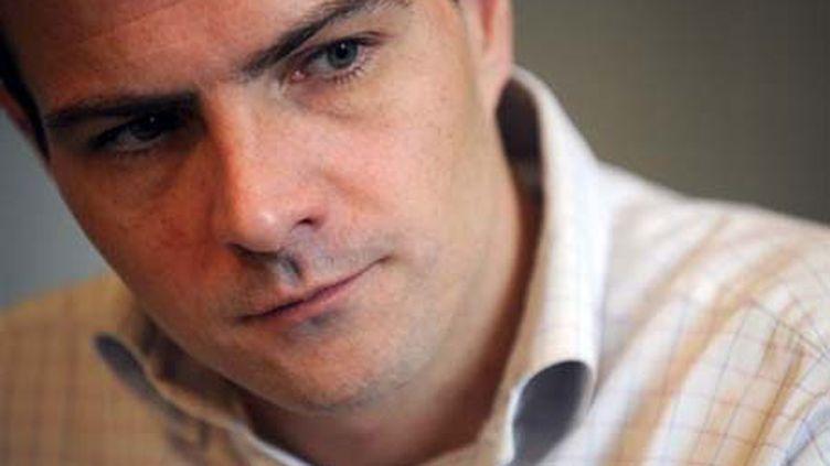 Jérôme Kerviel (photo prise chez son avocat, le 5 février 2008) (AFP/Martin Burean)