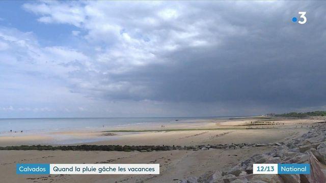 Calvados : la fréquentation touristique freinée par le mauvais temps