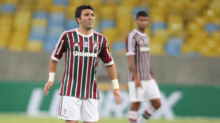 Le milieu de terrain Deco (Fluminense) (PAULO S?RGIO / AG?NCIA LANCEPRESS!)