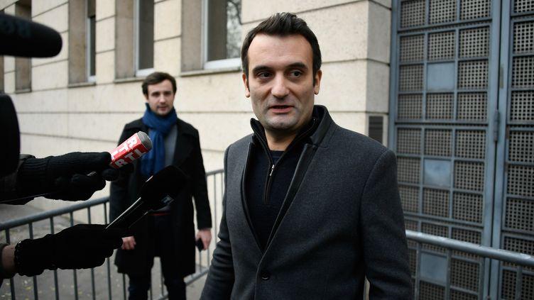 Le leader des Patriotes, Florian Philippot, le 3 juillet 2019 à Paris. (LIONEL BONAVENTURE / AFP)