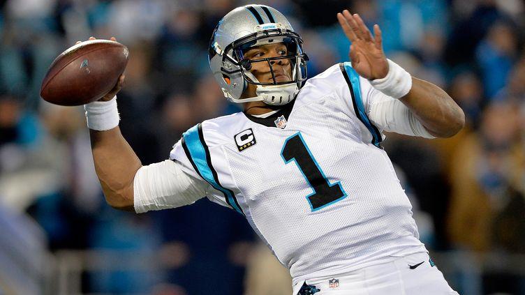 Le quarterback des Carolina Panthers est le MVP de la saison de NFL (GRANT HALVERSON / GETTY IMAGES NORTH AMERICA)