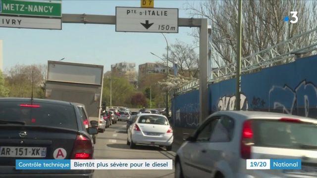Contrôle technique : bientôt plus sévère pour le diesel