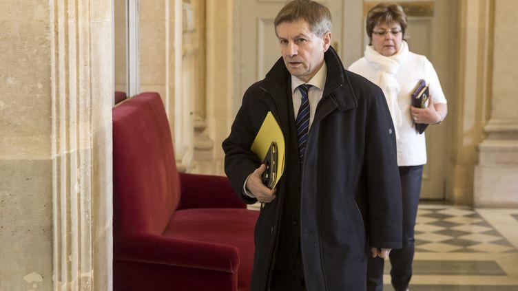 Joaquim Pueyo, député PS de l'Orne, vice-président de la Commission de la Défense nationale et des Forces armées, ancien directeur des prisons de Fresnes et Fleury-Mérogis. (VINCENT ISORE / MAXPPP)