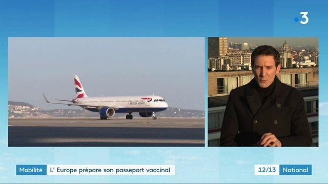 Covid-19 : vers la création d'un passeport vaccinal en Europe ?
