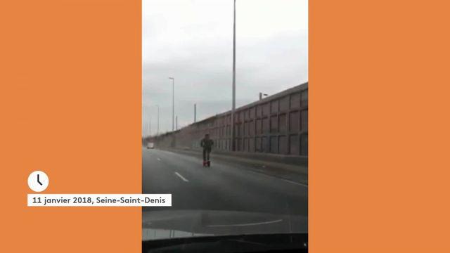 Transports : un homme surpris en trottinette à plus de 85 km/h sur l'autoroute