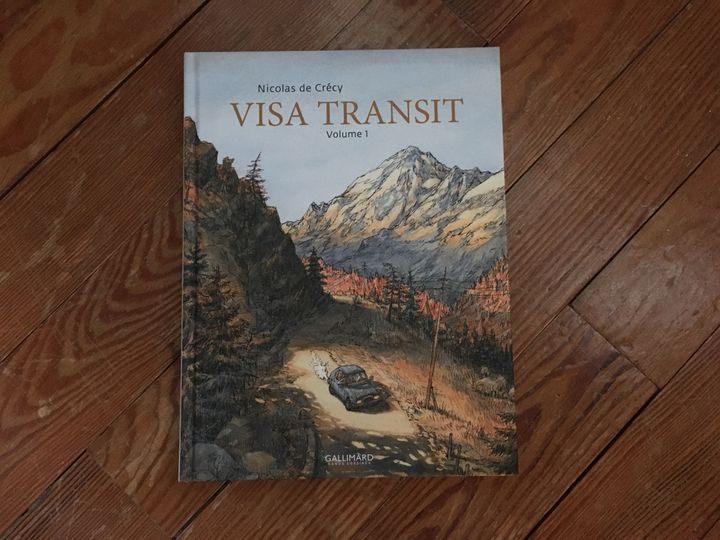 "Couverture de ""Vista transit - Volume 1"", de Nicolas de Crécy (Gallimard BD)"