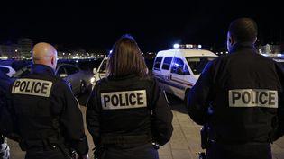 Des policiers, le 19 octobre 2016 à Marseille. (Photo d'illustration) (MAXPPP)