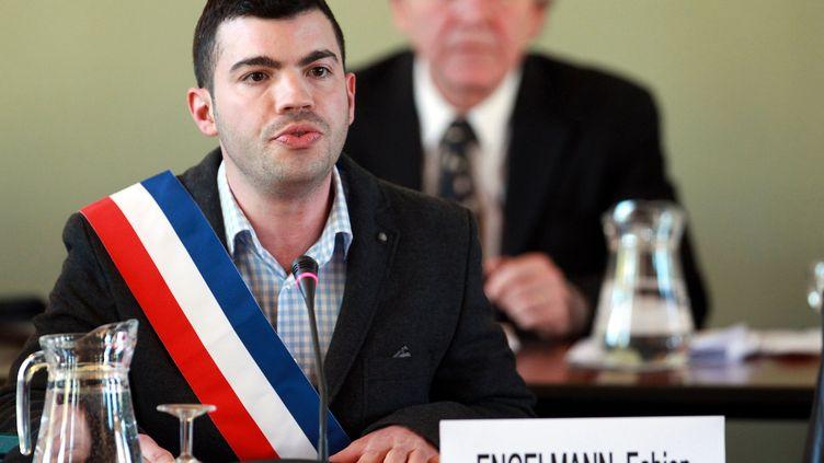 Fabien Engelmann, le 6 avril 2014 à Hayange (Moselle). (  MAXPPP)
