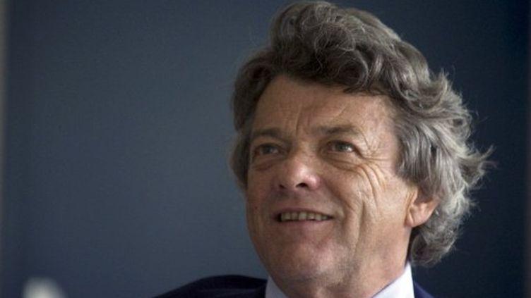 Jean-Louis Borloo, le 26 août 2011 à Belfort. (SEBASTIEN BOZON / AFP)