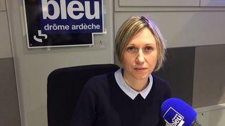 Il y a quatre ans, Géraldine Blanc, policière aujourd'hui installée en Ardêche est intervenue lors des attentats de Charlie Hebdo (FLORENCE BEAUDET / RADIO FRANCE)