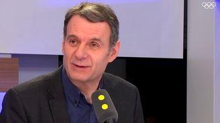 """Bruno Cautrès, politologue, chercheur CNRS au Cevipof et professeur à Sciences-Po Paris, était l'invité de """"Tout est politique"""" mardi 20 février sur franceinfo. (FRANCEINFO)"""