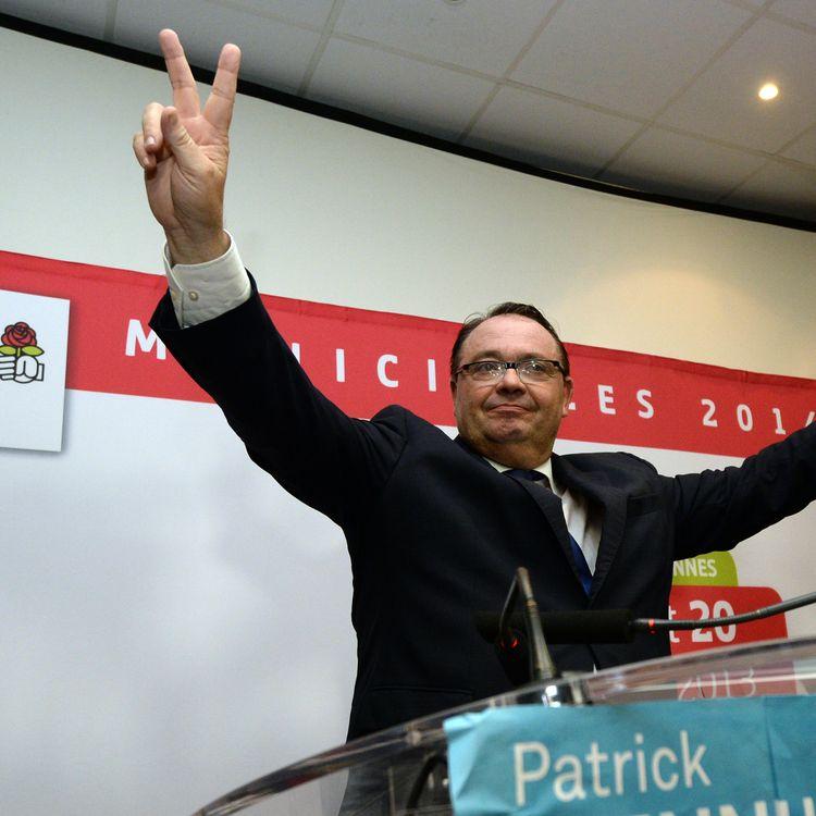 Le candidat PS à Marseille, Patrick Mennucci, le 20 octobre 2013 à la fédération des Bouches-du-Rhône. (ANNE-CHRISTINE POUJOULAT / AFP)