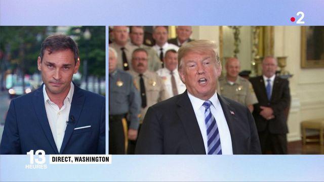 """Donald Trump : """"Qui a parlé, qui est cette taupe ?"""""""