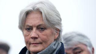 Pénélope Fillon, épouse de François Fillon à Sablé-sur-Sarthe, le 11 décembre 2016. (JEAN-FRANCOIS MONIER / AFP)