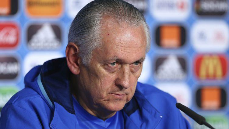 Mikhaylo Fomenko, le futur ex-sélectionneur de l'Ukraine (HANDOUT / UEFA)