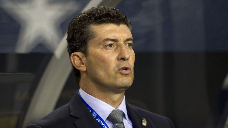 Jose De la Torre sélectionneur du Mexique (OSVALDO AGUILAR / MEXSPORT)