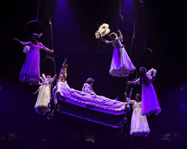 Cirque du Soleil -Corteo au The BB&T Center, Sunrise, USA - 24 Juillet 2019 (LARRY MARANO/REX/SIPA / SHUTTERSTOCK)