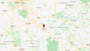 Monéteau (Yonne) (GOOGLE MAPS)