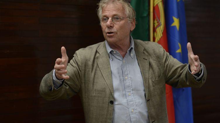 Daniel Cohn-Bendit, le 21 juin 2013 à Lisbonne au Portugal. (JEROME MARS / JDD / SIPA  )