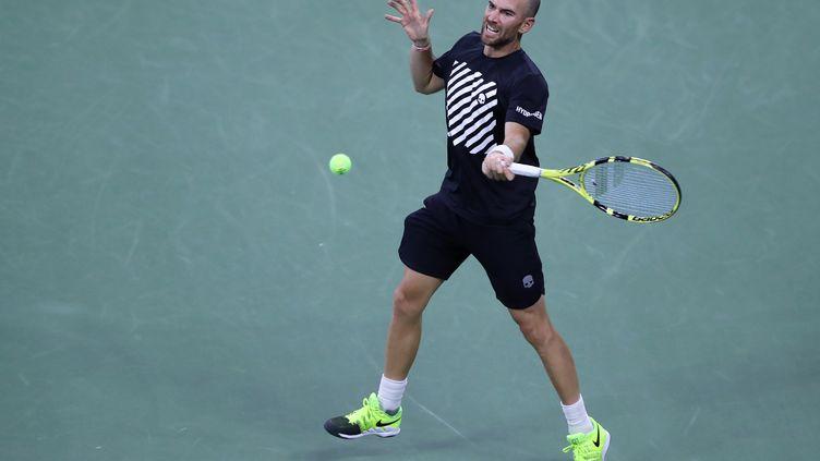 Adrian Mannarino à l'US Open (MATTHEW STOCKMAN / GETTY IMAGES NORTH AMERICA)