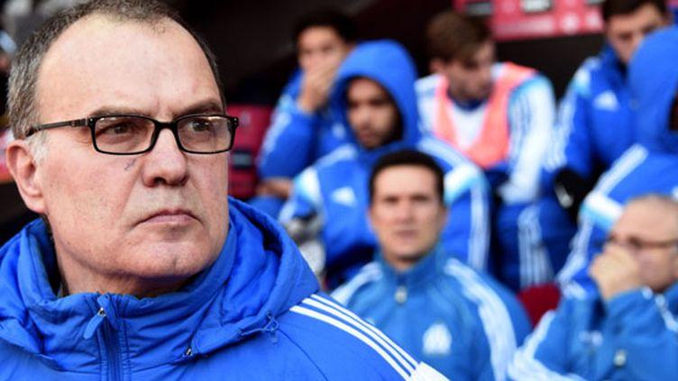 L'entraîneur argentin de l'OM, Marcelo Bielsa