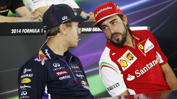 Sebastian Vettel, ici aux côtés de Fernando Alonso, pilote désormais chez Ferrari (HOCH ZWEI / HOCH ZWEI)