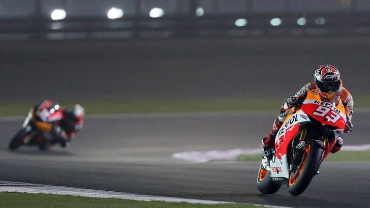 Marc Marquez a fait forte impression lors des essais du GP des Etats-Unis. (KARIM JAAFAR / AL-WATAN DOHA)