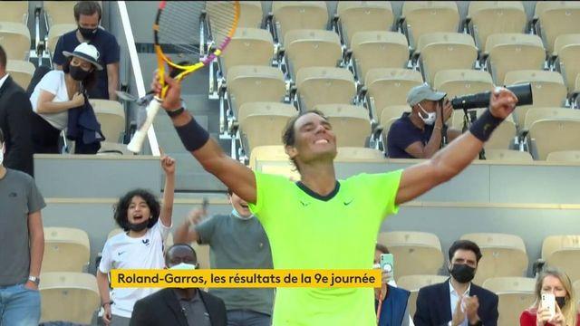 Roland-Garros : Rafael Nadal et Novak Djokovic se qualifient