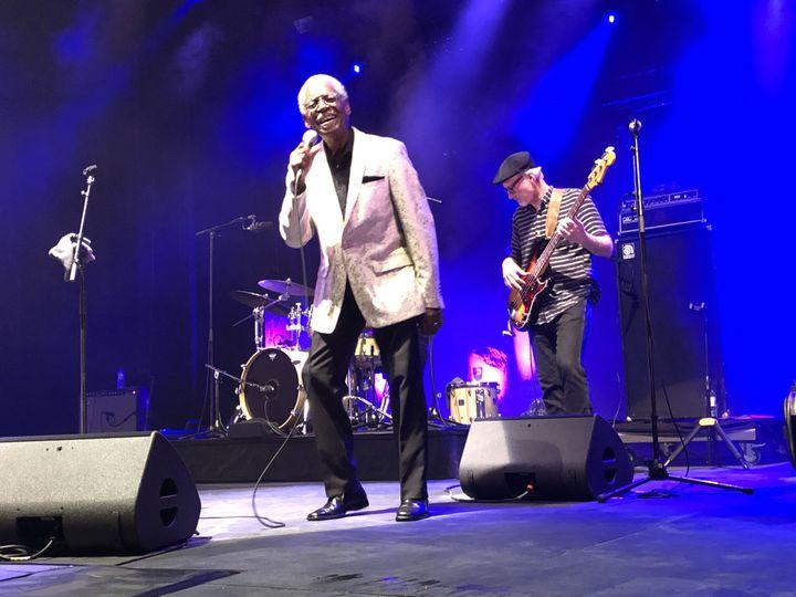 Don Bryant sur la scène de Fourvière (Lyon) le 6 juillet (Jean-François Convert)