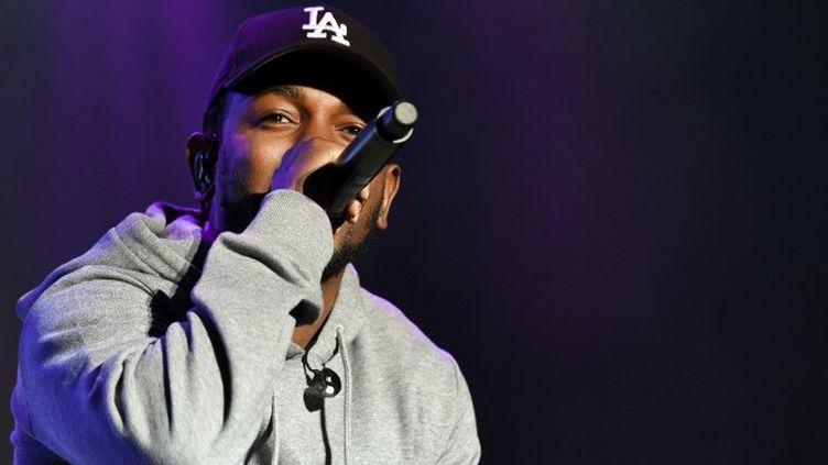 "Kendrick Lamar au festival autrichien ""Frenquency 2015"" (août 2015)  (HERBERT P. OCZERET / APA-PICTUREDESK / APA)"
