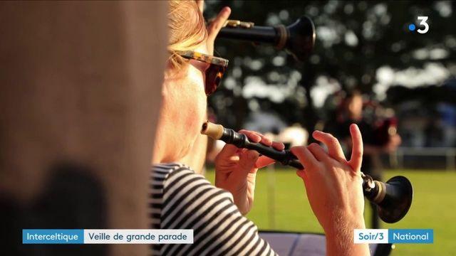 Interceltique : veille de grande parade à Lorient