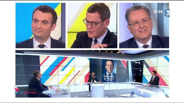 """Florian Philippot : """"Je crois que c'est bien que les Français sachent qui va diriger le gouvernement"""""""