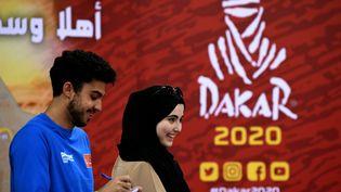 Le rallye Dakar 2020 qui se tient pour la première fois à Djeddah, en Arabie Saoudite. (FRANCK FIFE / AFP)