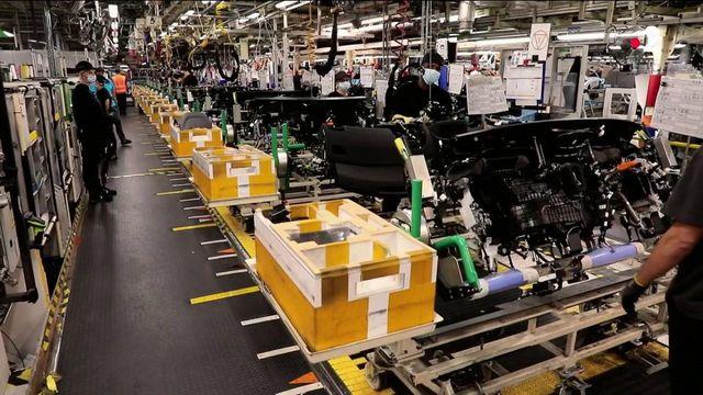 Toyota : les employés de retour à Onnaing, mais une production ralentie