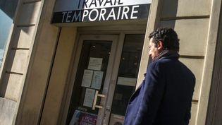 Une agence d'intérim parisienne, le 1er octobre 2015. (MAXPPP)