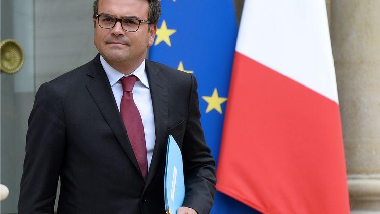 Thomas Thévenoud, ici à l'Elysée le 27 août 2014, a annoncé qu'il ne démissionnerait pas de son mandat de député. (BERTRAND GUAY / AFP)