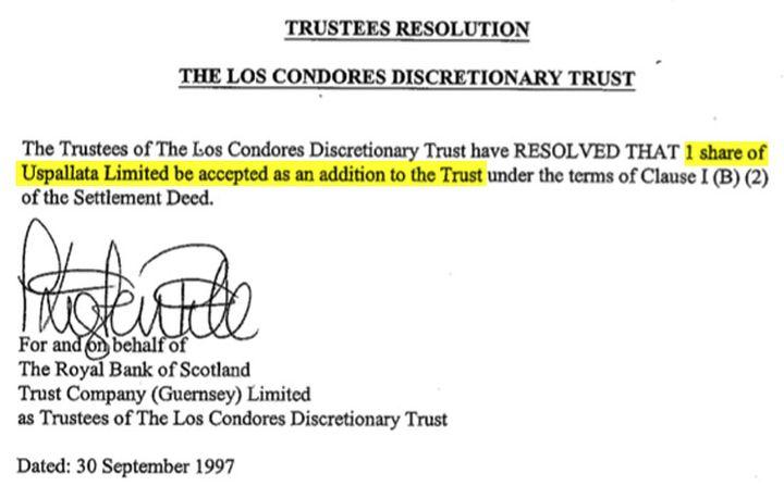 L'action Uspallata est ajoutée au trust de Jean-Jacques Annaud. (DR)
