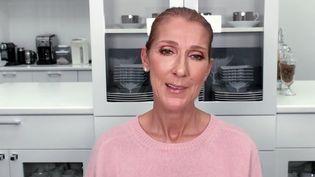 Céline Dion adresse un message d'encouragement au monde entier face à l'épidémie de coronavirus. (CAPTURE D'ÉCRAN FACEBOOK)