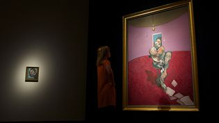 """""""Portrait of George Dyer Talking"""", Bacon (1966)  (ANDREW COWIE / AFP)"""