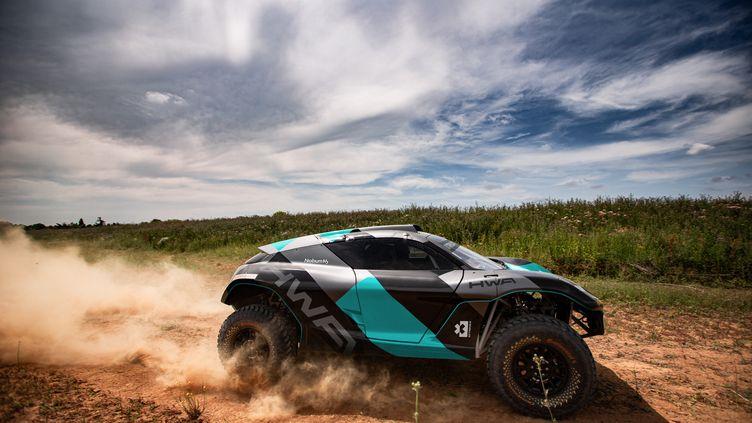 L'Odyssey 21, le véhicule conçu par Spark Racing Technology pour le championnat d'Extreme E