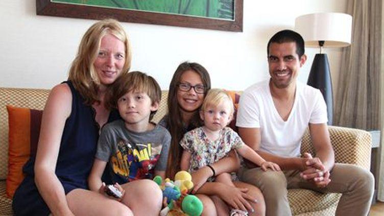 En vacances en Thaïlande, la famille Djoehana a préféré rester dans son hôtel à Bangkok quand elle a appris la nouvelle des attentats. (Lionel de Coninck)