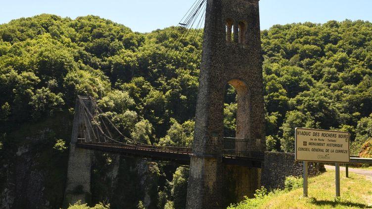 Le Viaduc du Rocher Noir, Corrèze (AGNES GAUDIN / MAXPPP)