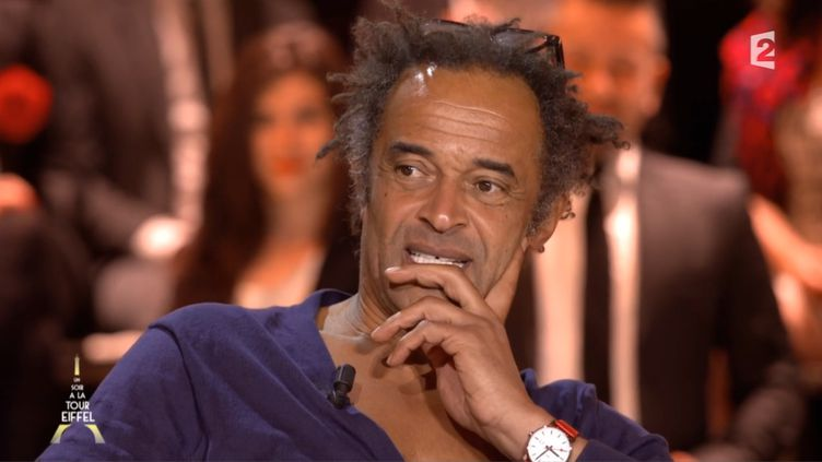 Le chanteur Yannick Noah sur France 2, le 22 octobre 2014. ( FRANCE 2)